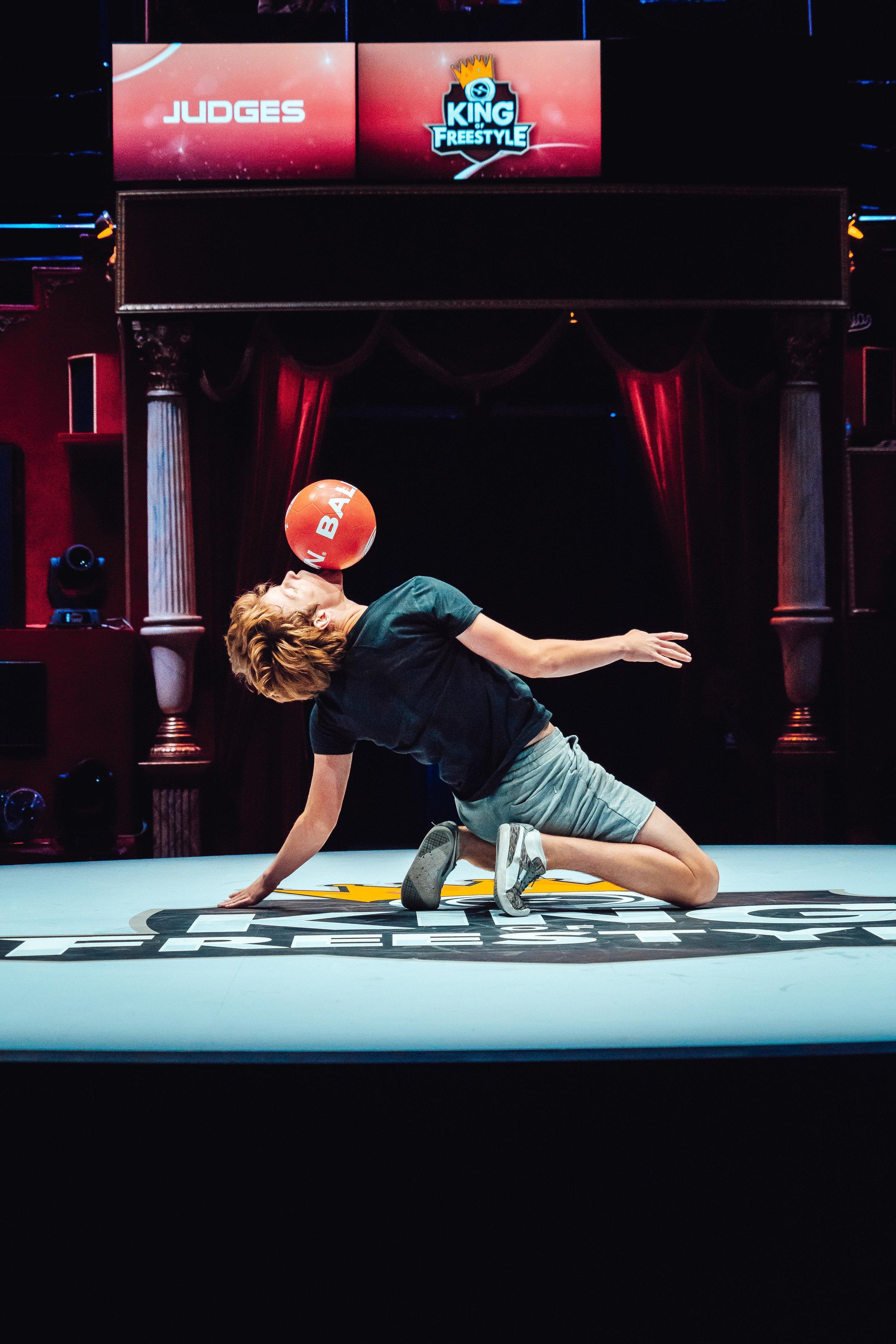 King of Freestyle - Top 4 internationaal/genodigd toernooi in Parijs Jesse Marlet