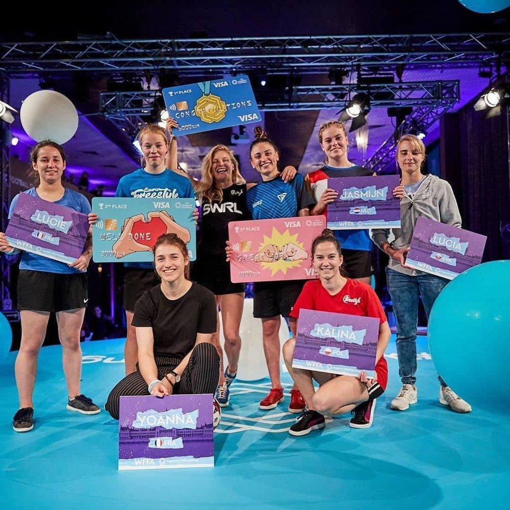 Women's European Freestyle Football Championship 2019 - 2e Laura Dekker5e Jasmijn Janssen