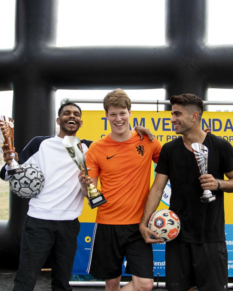 International Freestyle Football Tournament Veenendaal - Winnaar Jesse Marlet