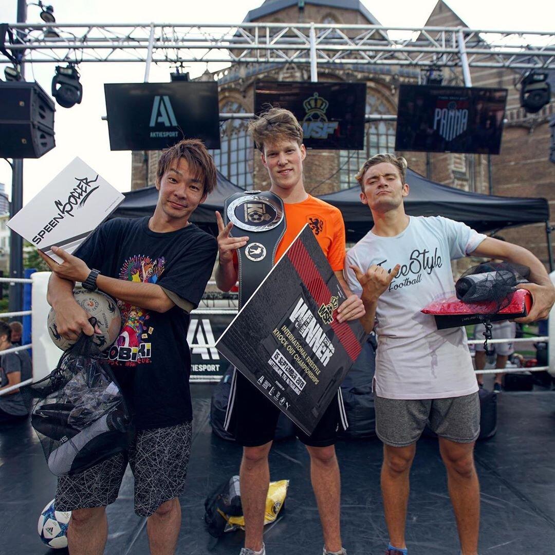 International Freestyle KO Championships - Jesse Marlet - 1e plaats