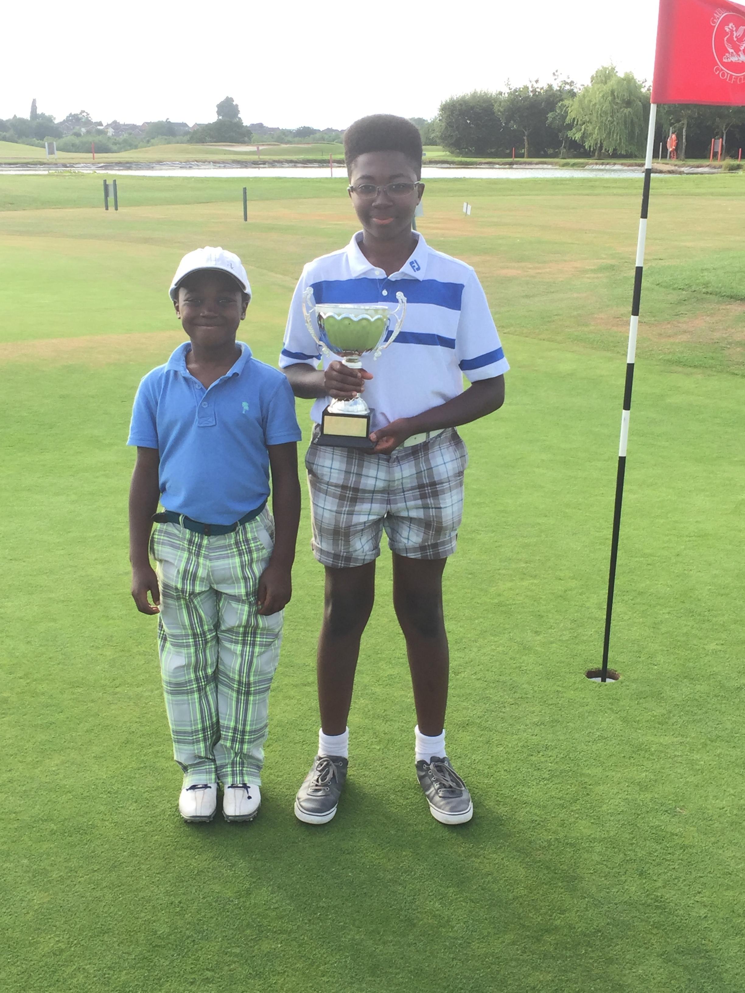 2016  'Winner' Junior Club Champion - Gaudet Luce GC