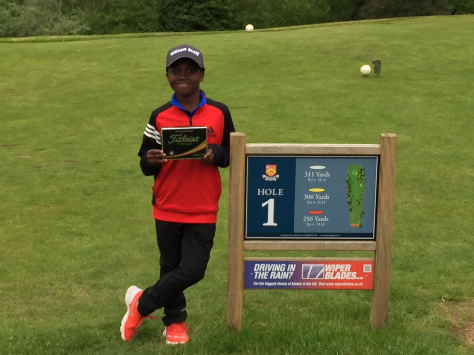 2018 Junior Open Winner Churchill and Blakedown GC
