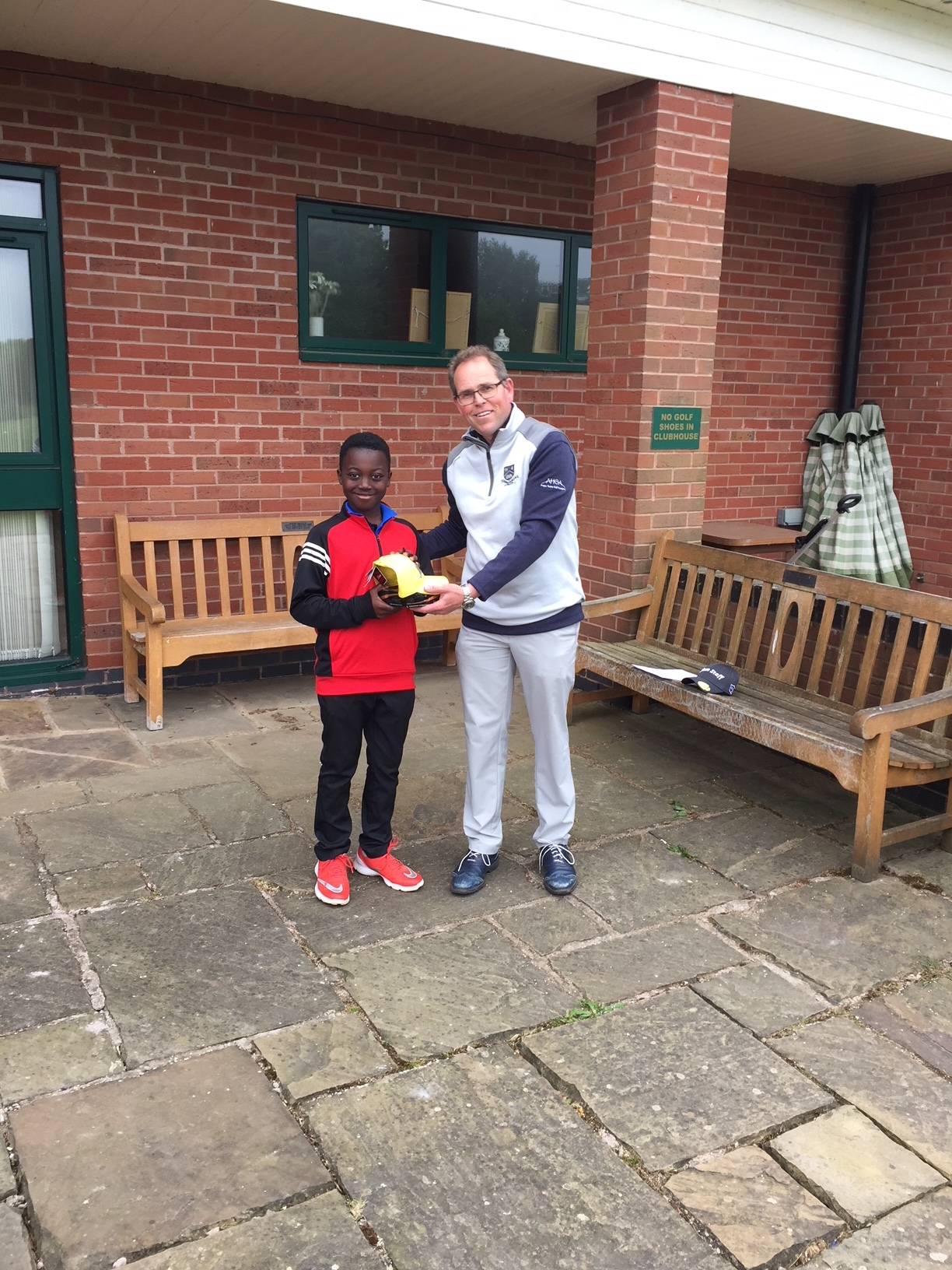 2018 'Winner' Junior Open -  Churchill & Blakedown GC