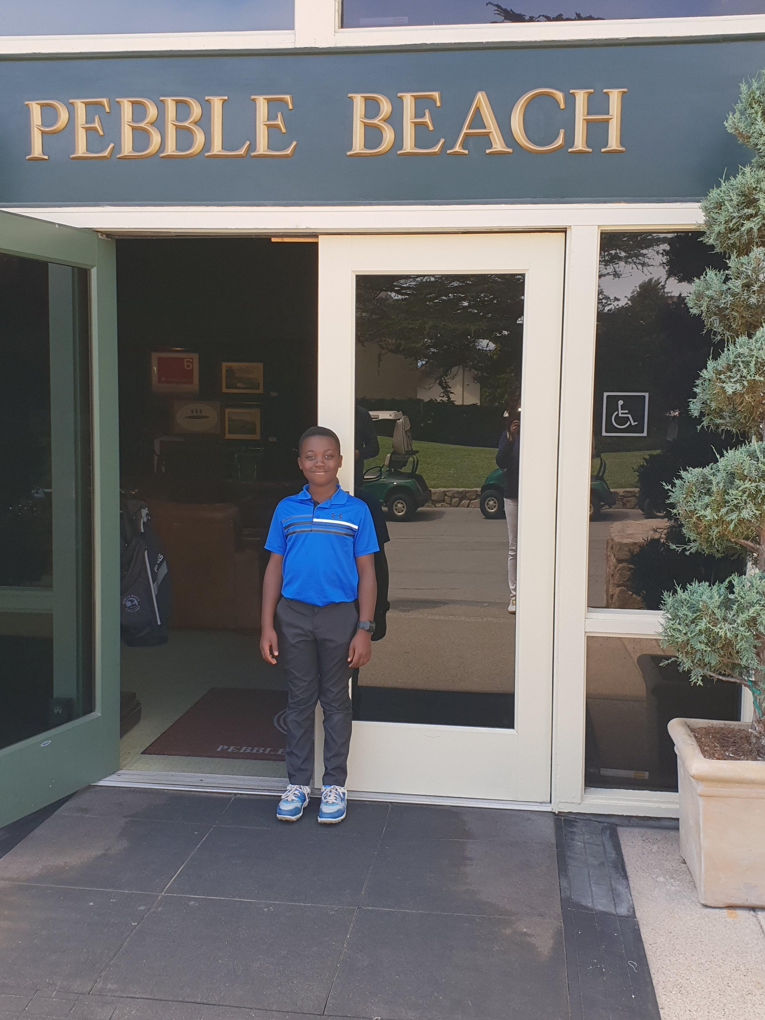 2018  Hayden Pebble Beach