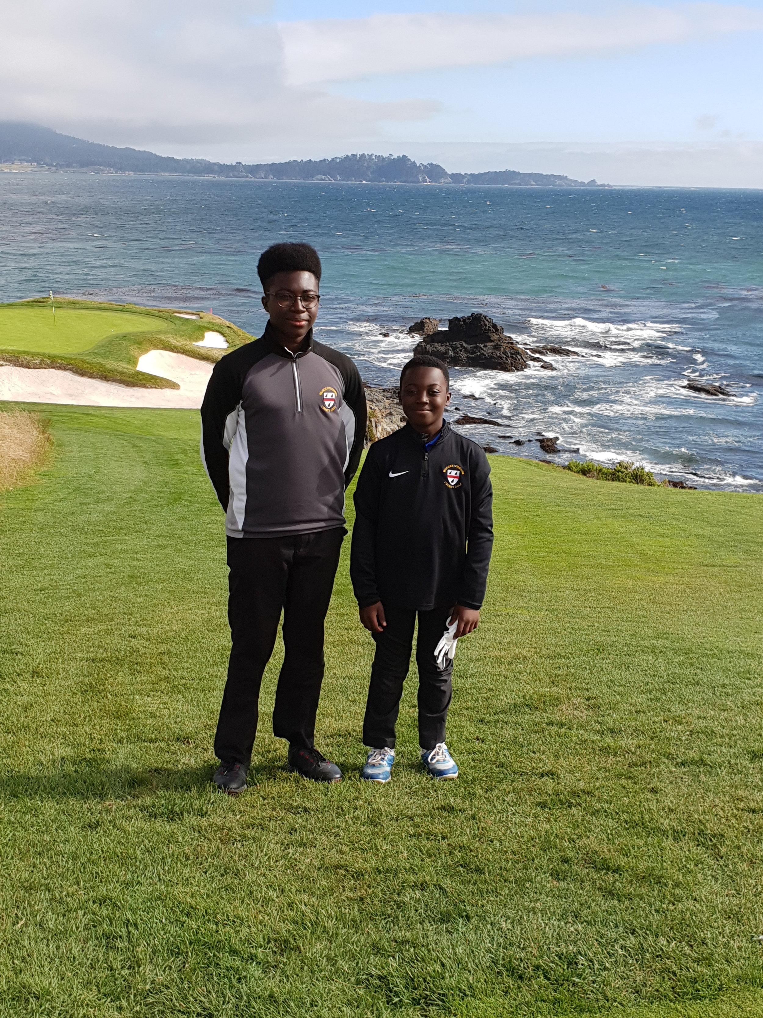 2018 Brandon & Hayden Pebble Beach Golf Club