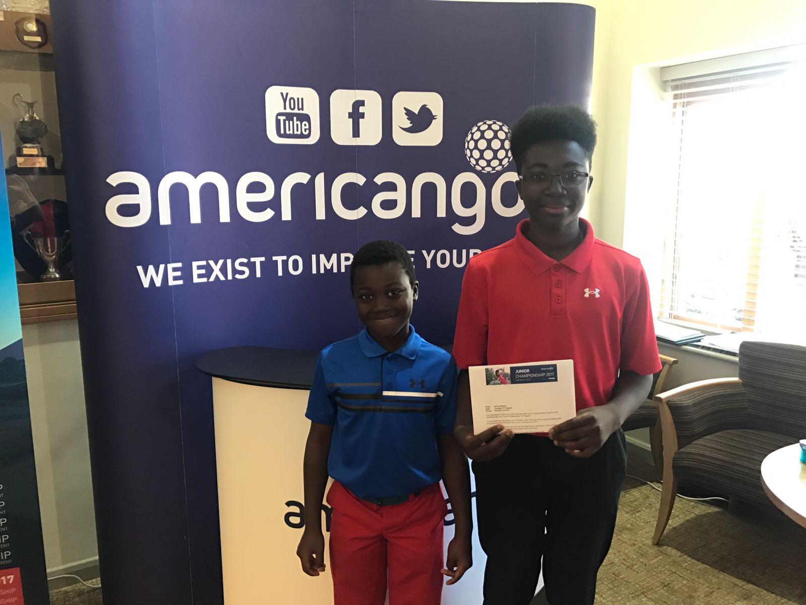 2017 Brandon & Hayden Regional Qualifiers American Golf Junior Championship