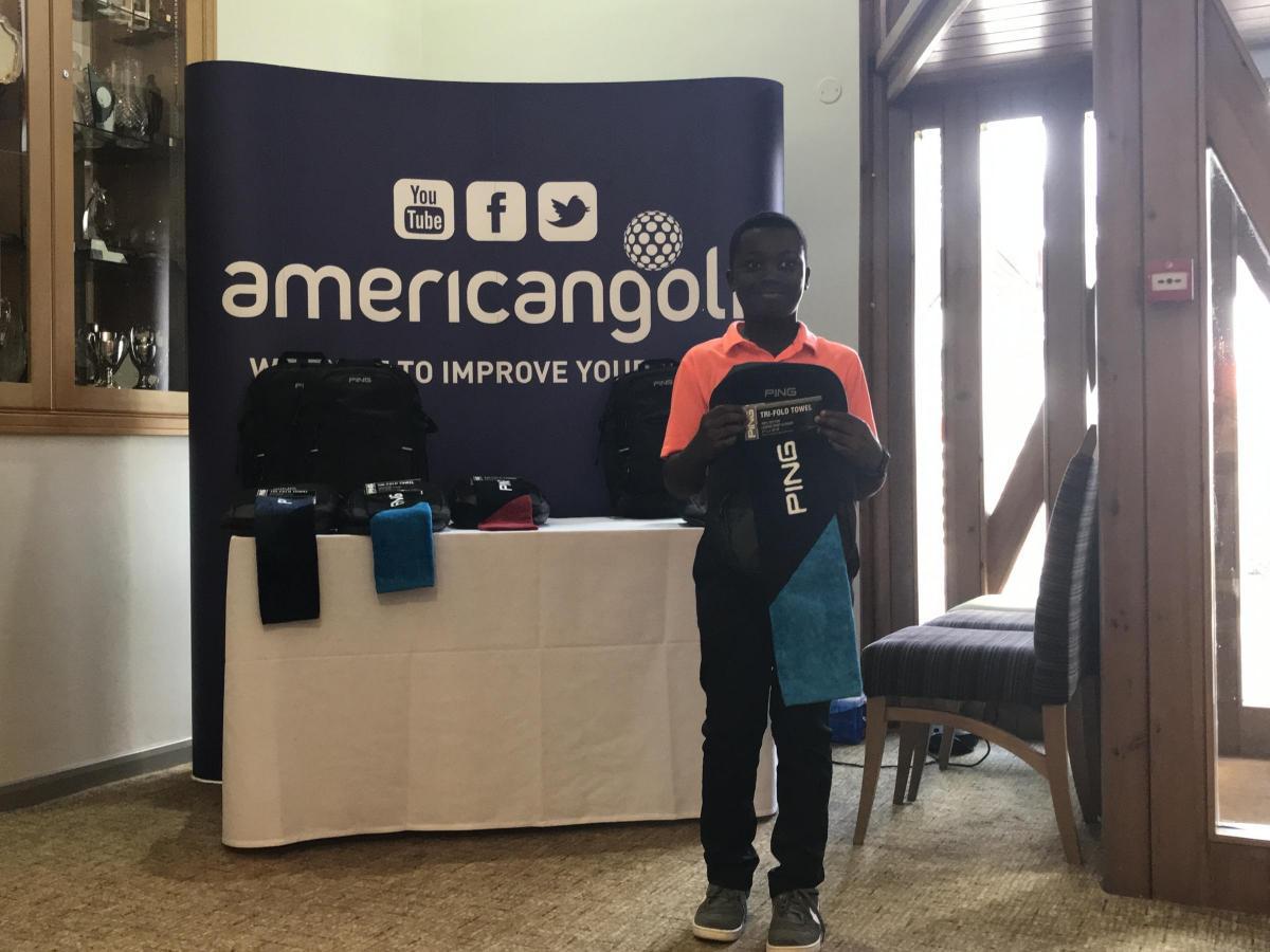 American Golf Junior Regional qualifier - 1st Place 2018