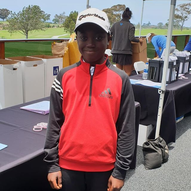 Registered @juniorworldgolf @imgacademy @torreypinesgolf.  Entered the putting competition, great fun!  The @juniorworldgolf ceremony is about to start. @bjgt @midlandsgolfer #juniorgolf