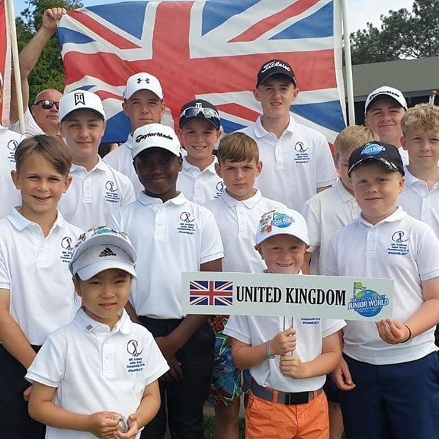 Fun day @juniorworldgolf @imggolf opening ceremony @torreypinesgolf.  Great to meet #teamBJGT and my golfing friends.  Final practice round tomorrow before @juniorworldgolf tournament begins.  Best of luck to everyone  #teamBJGT @britishjuniorgolftour @midlandsgolfer
