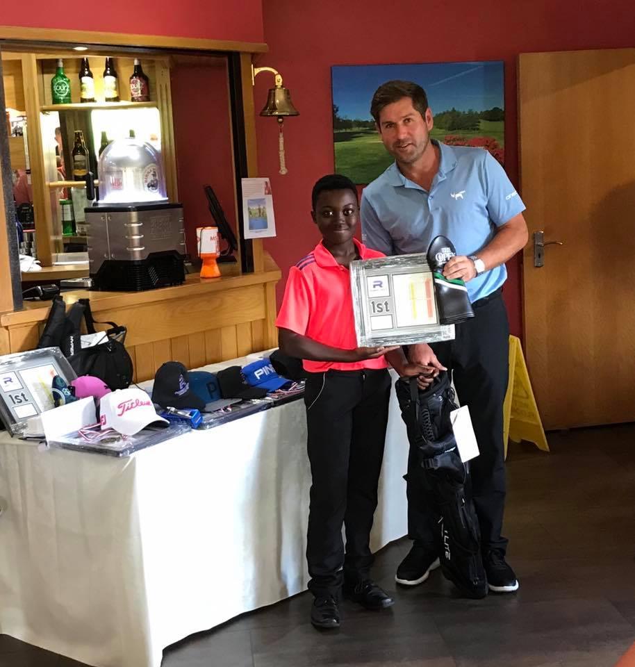 Winner U14s Rob Rock Junior Golf Tour 2019