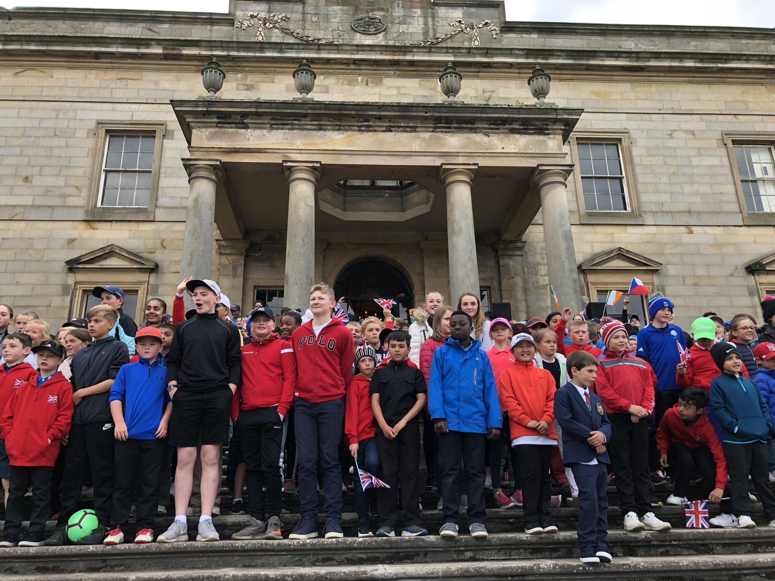 2019 European Championship Opening Ceremony Gosford House St Lothian