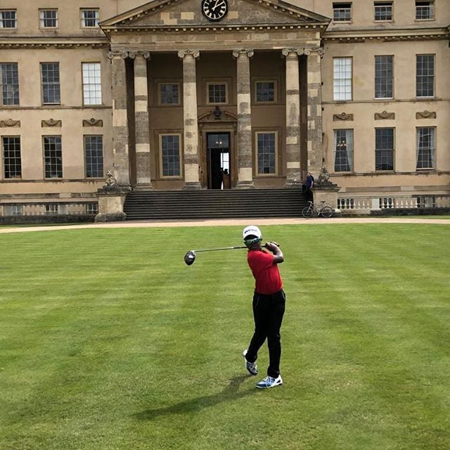 Great golfing weather to play in the annual Stowe Putter prep school golf competition today.  Hayden returns to Stowe having won the U11s junior jigger last year.