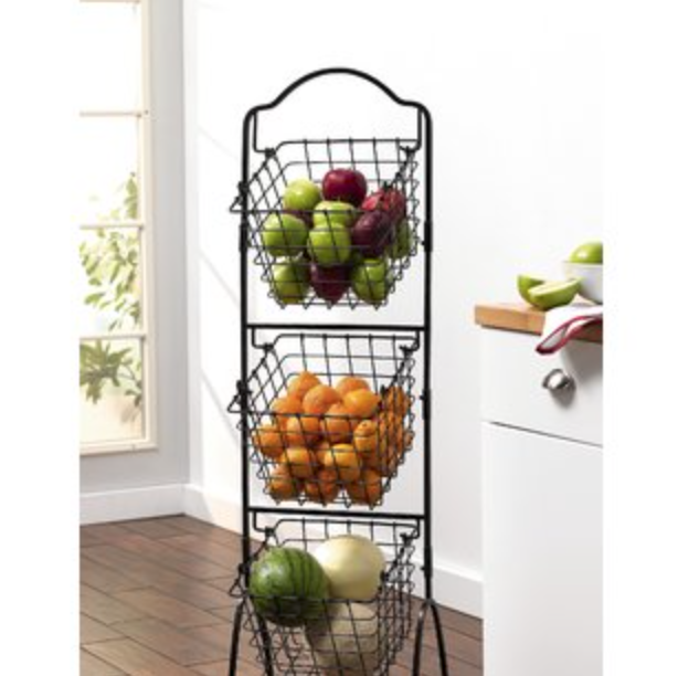 When I was in my thirties I had a vegetable storage rack that looked like this. Maybe you had one like it too? -
