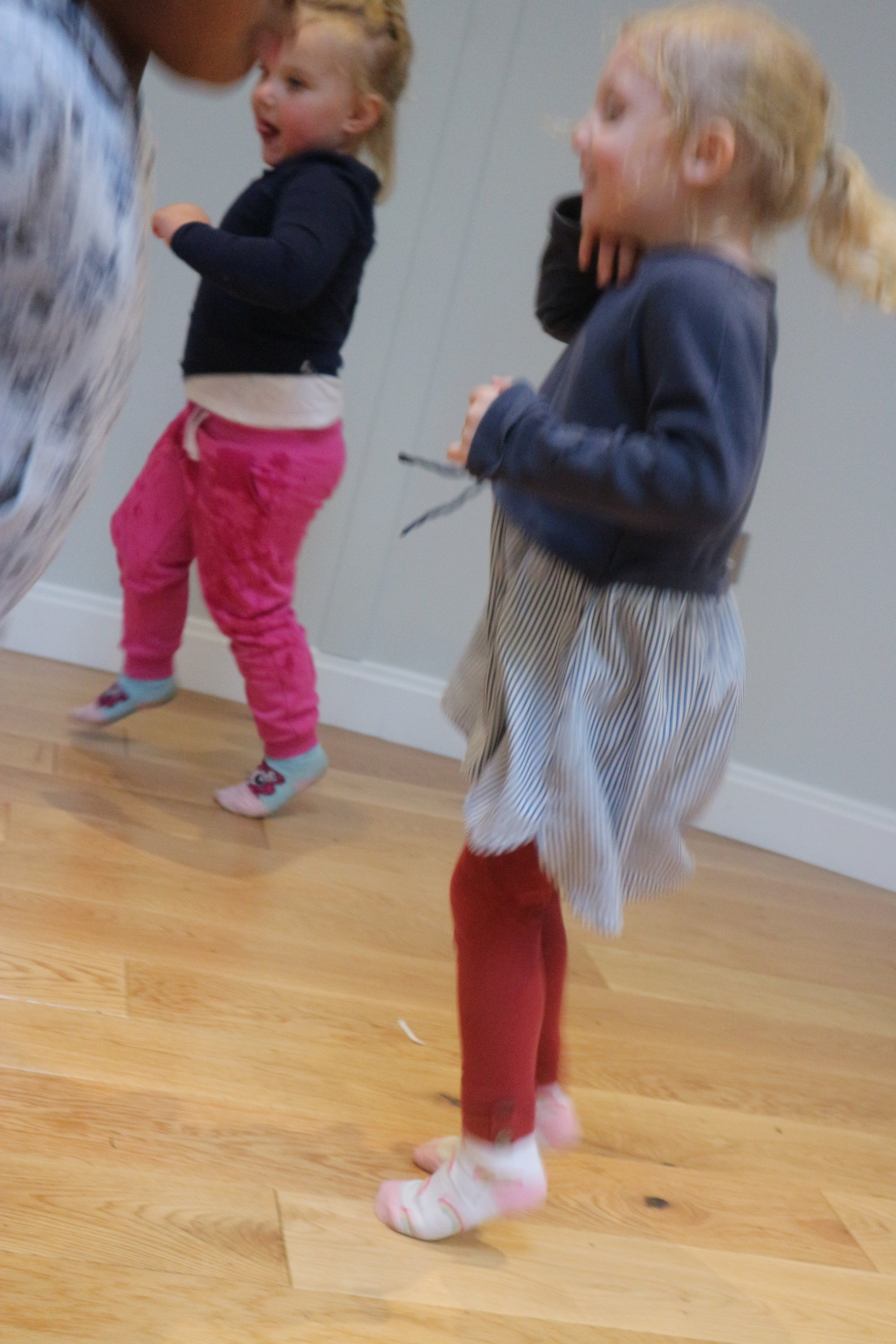 Winter warm ups - Jumping, crawling, spinning, wriggling….