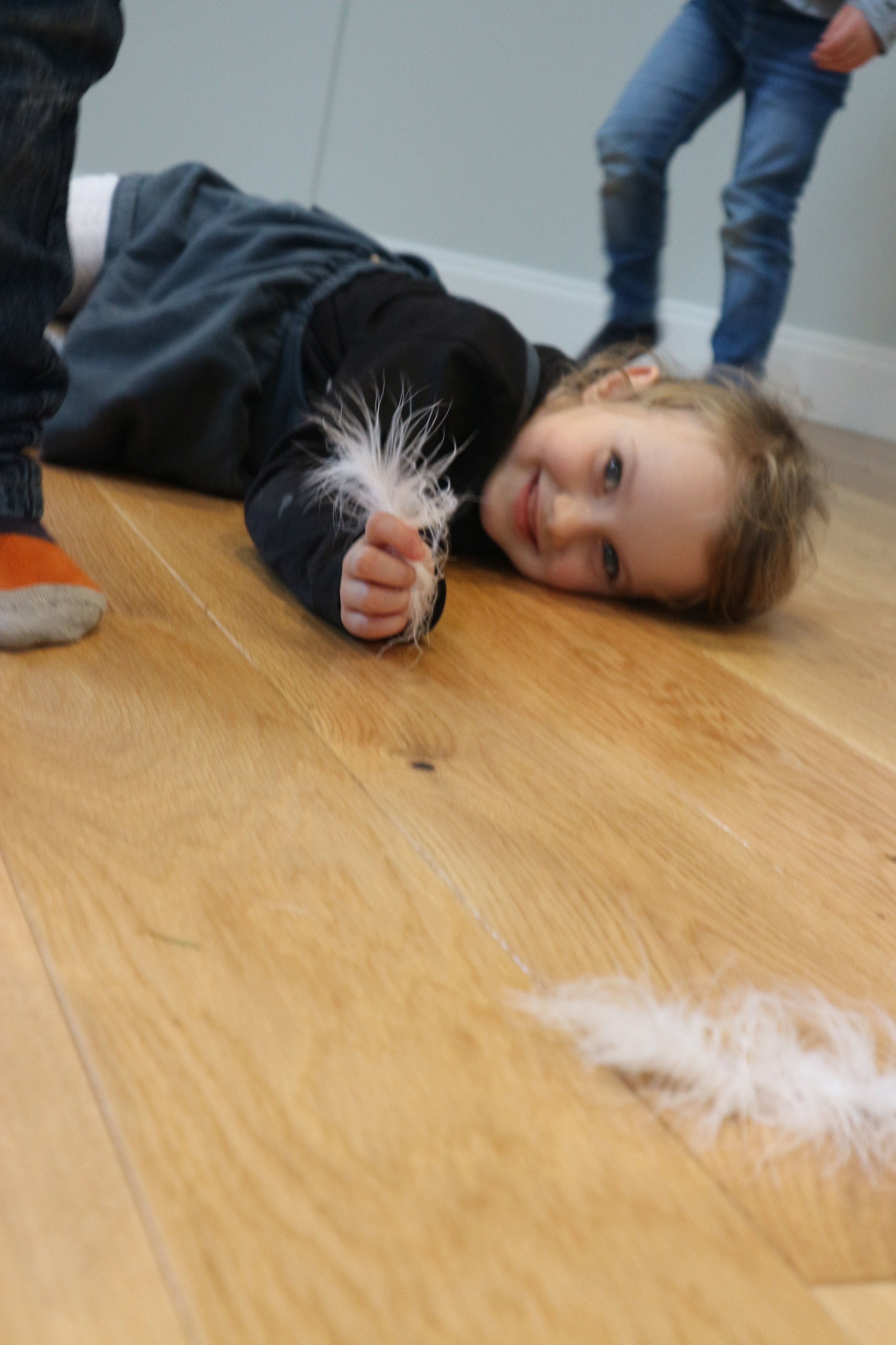 The joy of a simple feather - Has to be Marabou - don't buy any others!