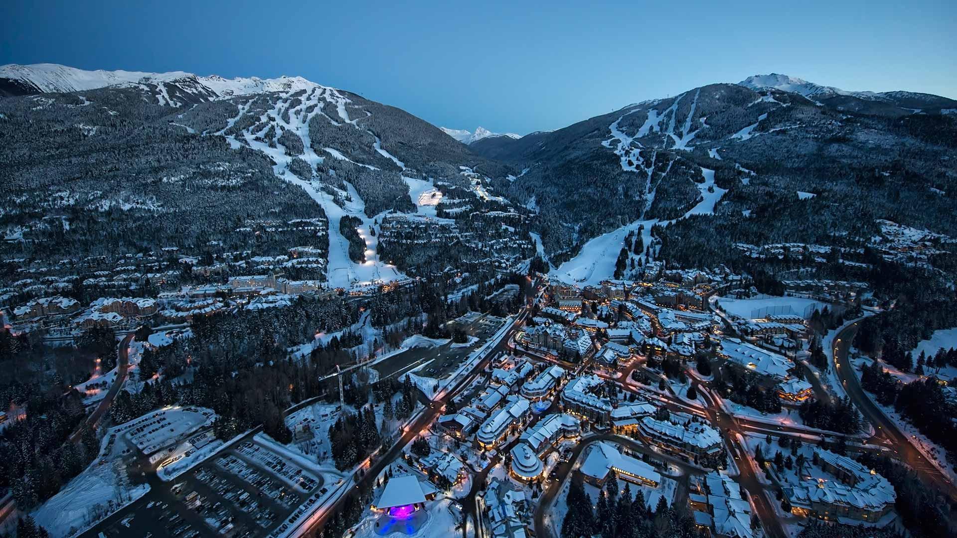 Winter-Dual-Mountain-Village-Evening-Bluebird-Lights-DavidMcColm-26390.jpg