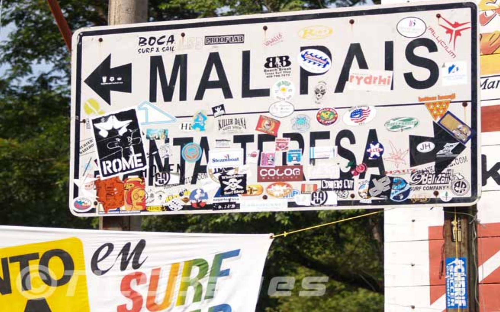- Santa Teresa, Mal Pais, se encuentra en la Península de Nicoya, una de las más diversas áreas de Costa Rica, que cuenta con bosques tropicales, buen surfing y espectaculares puestas de sol sobre el Océano Pacifico. En esta zona, también dispondrás de todos los servicios (restaurantes, farmacias, bancos, alquiler de vehículos, spas, centros de yoga y escuelas de surf).