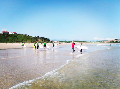 Surfcamp san vicente 2