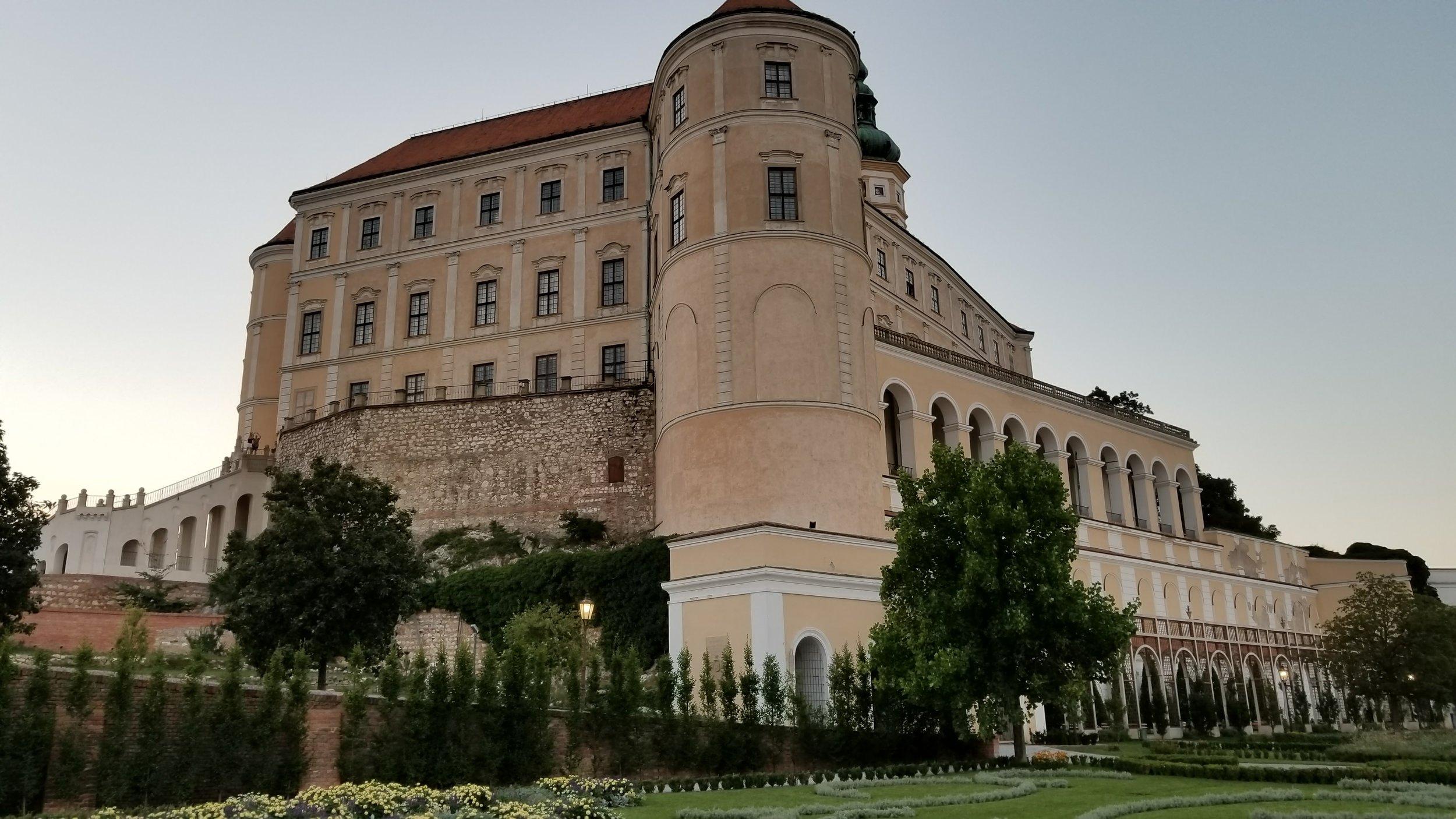 The Mikulov Castle