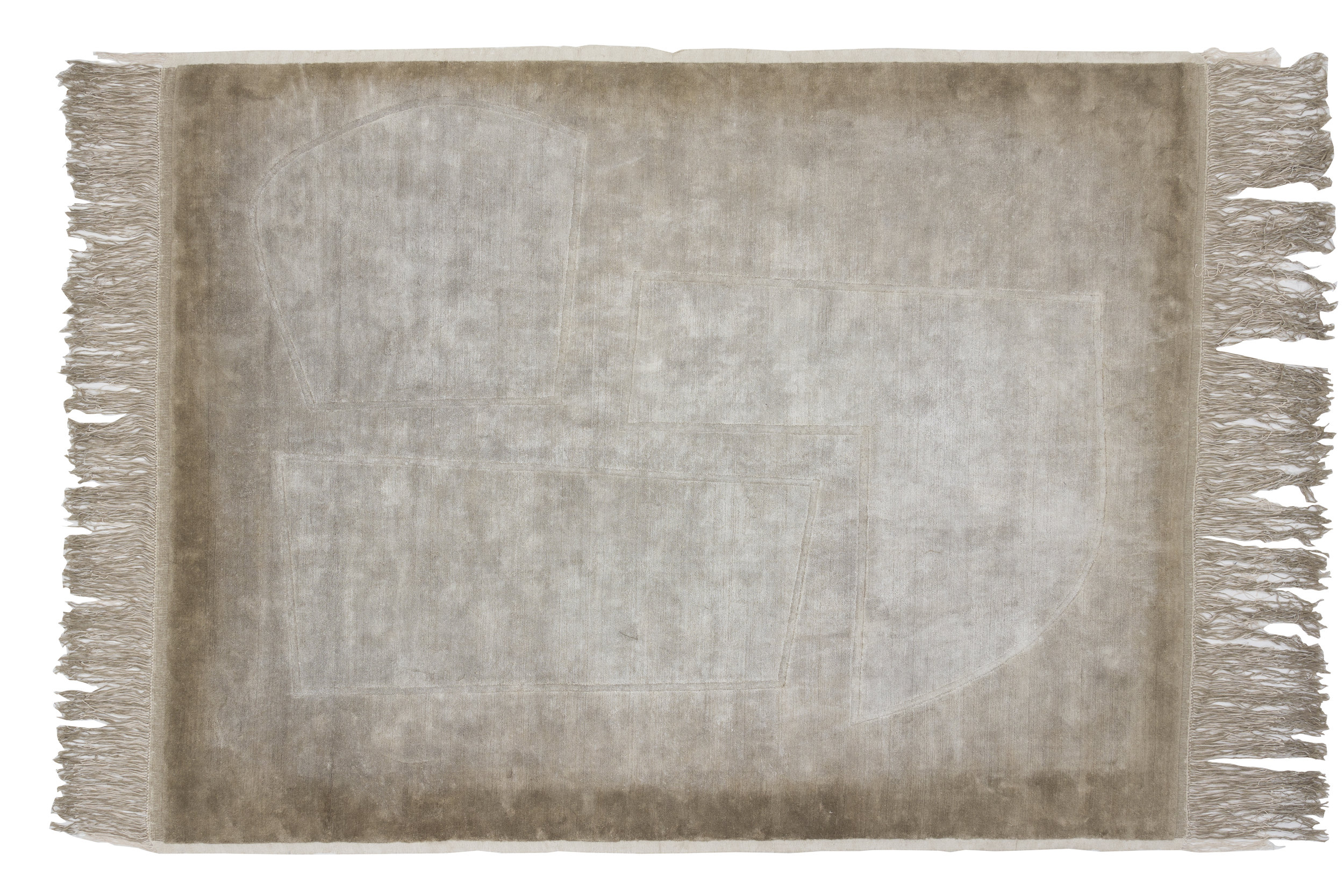 Patch rug from the Inventory collection by Faye Toogood and CC Tapis