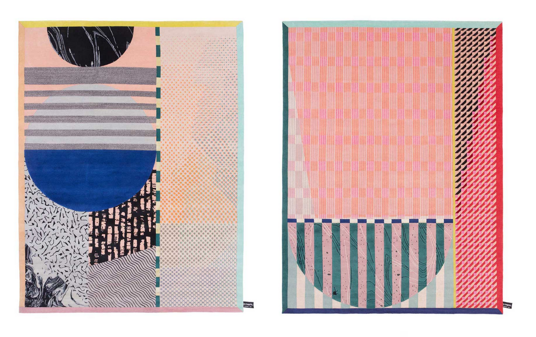 Rugs from A Poster a Day series by Studio Proba