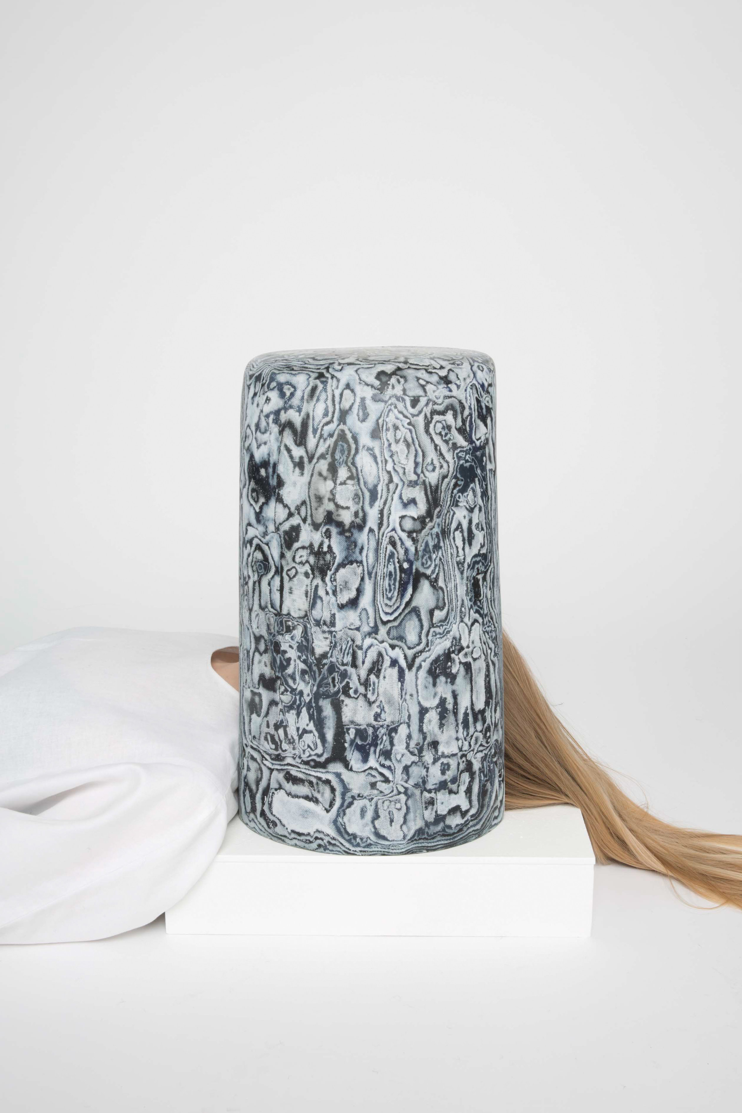 Bahia Stool part of Material Illusions by Sophie Rowley