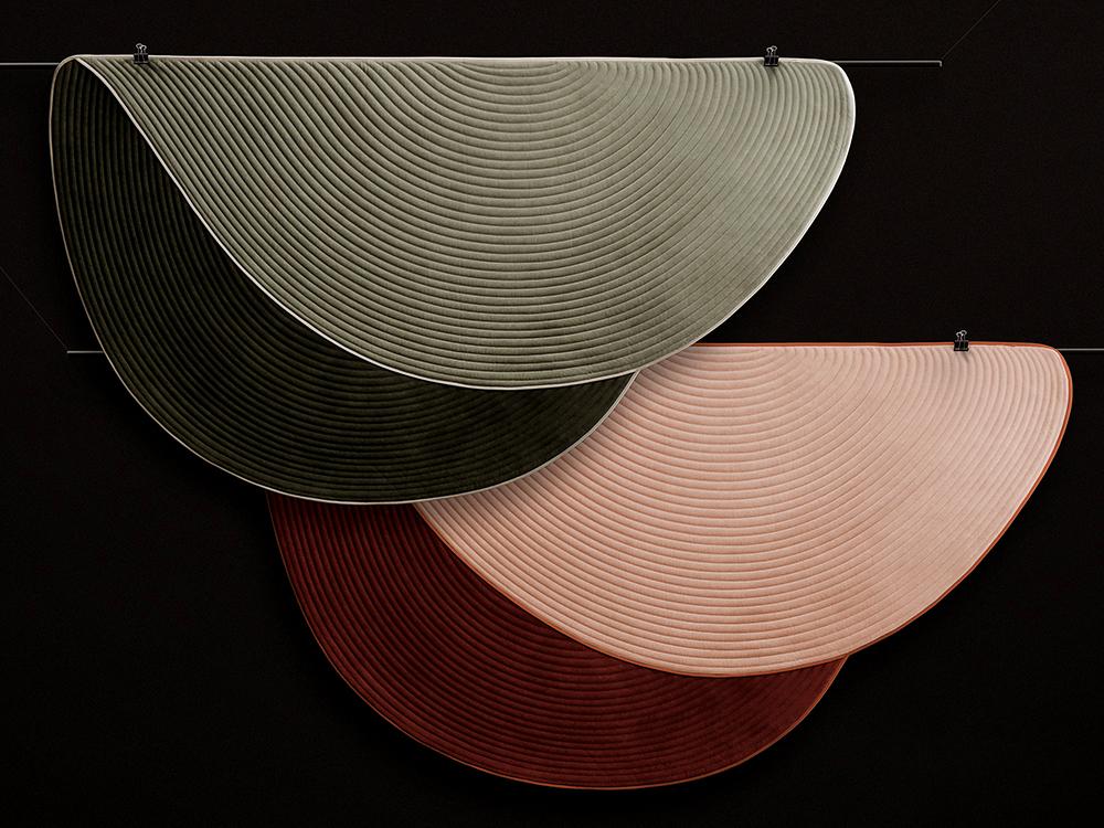 FAREWELL rugs by Christophe de la Fontaine for Dante