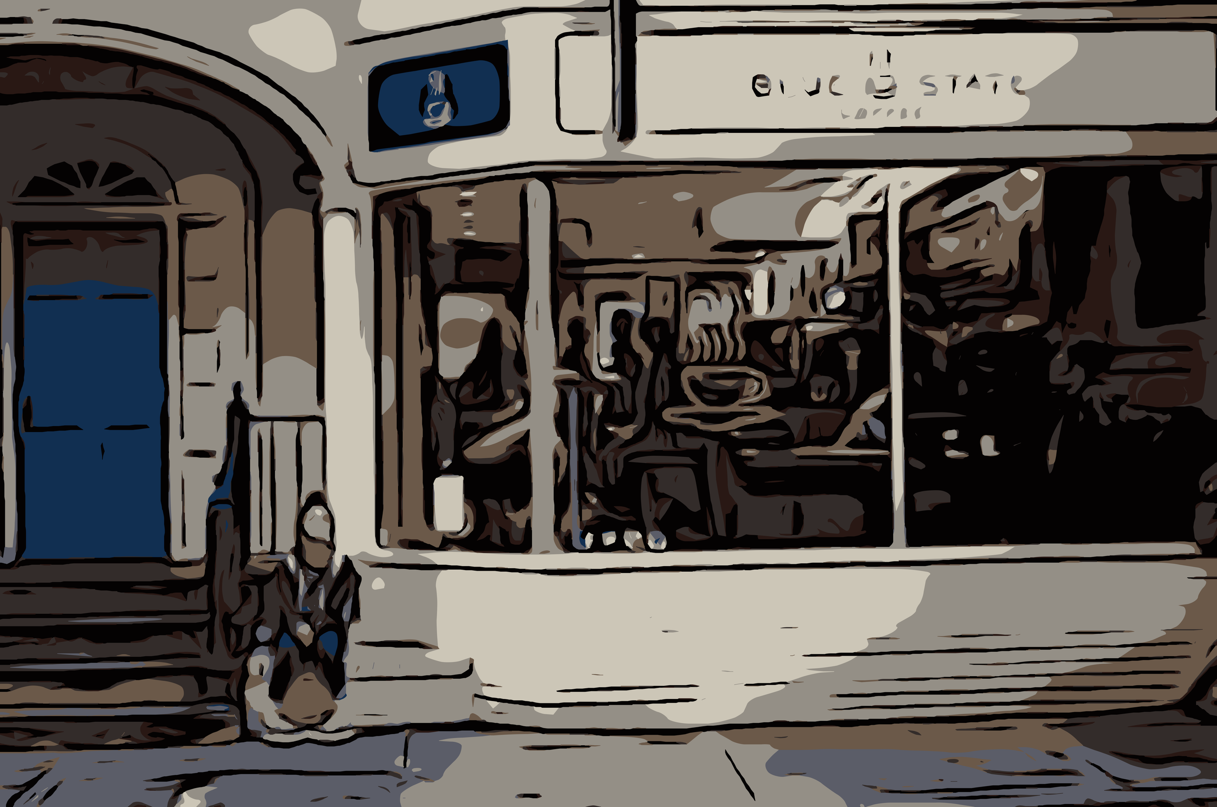 I have a tendency in any city I settle into to find a café I like and make that café a second home. During college, Blue State was a definite go-to... -