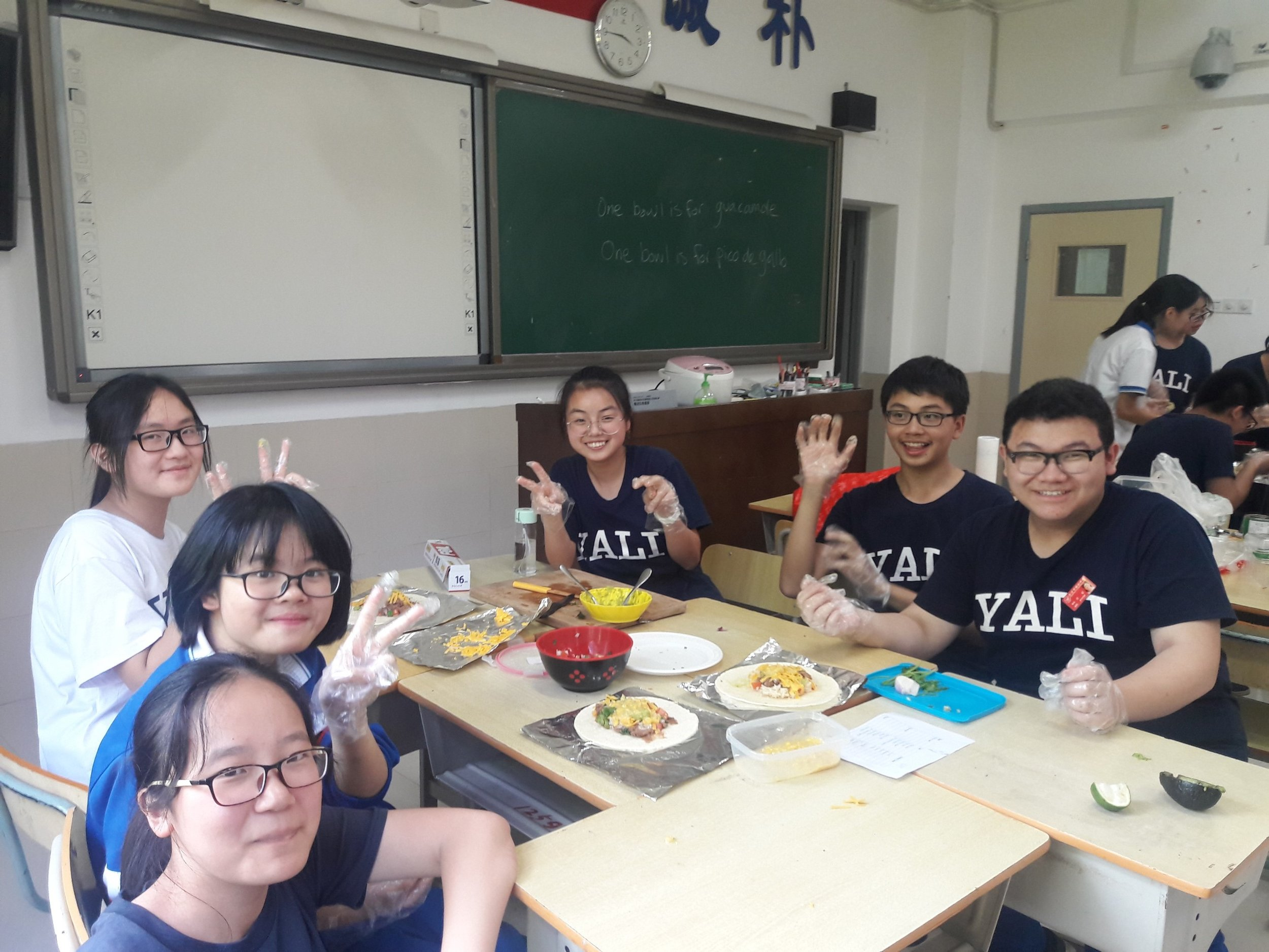 They loved the activity, found it very memorable and learned a little about american food culture. -