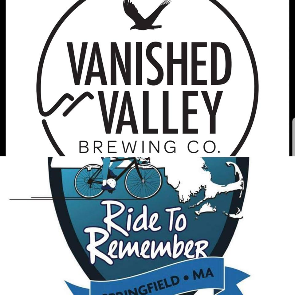 SEP 7TH  Join us for our first ever Ride to benifit Ride To Remember and tune up for the Ride to Boston on Sep 21st!  We will be leaving and returning to the Brewery.  Registration includes:  - A PIG ROAST after the ride at Vanished Valley Brewing's Beer Garden. Tailgate toss  - Live Music provided by The Kings  - A stop with snacks and beverages  $40.00 for Pre Registration and $50.00 Day of. Limited to 200 participants.  Families are welcome to join us at the beer garden after the ride. Food tickets will be available at 8.00 per person for those not riding.  All proceeds from Registration will be donated to the Ride to Remember! The years Ride to Remember is the seventh annual ride and will honor Kevin Ambrose whos badge was #7. Vanished Valley will also be pouring there ISO 7 IPA to commemorate Officer Ambrose
