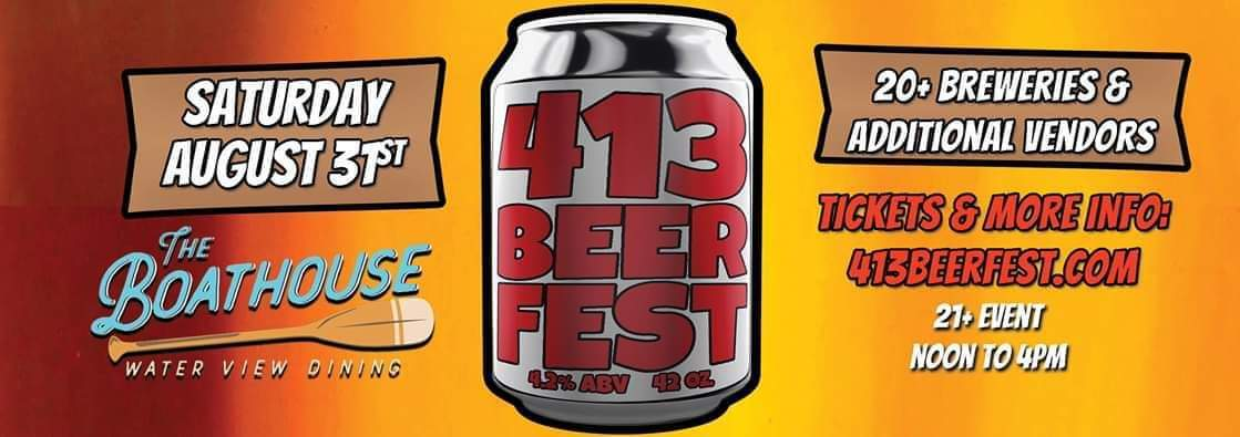 AUG 31ST  413 BEER FEST