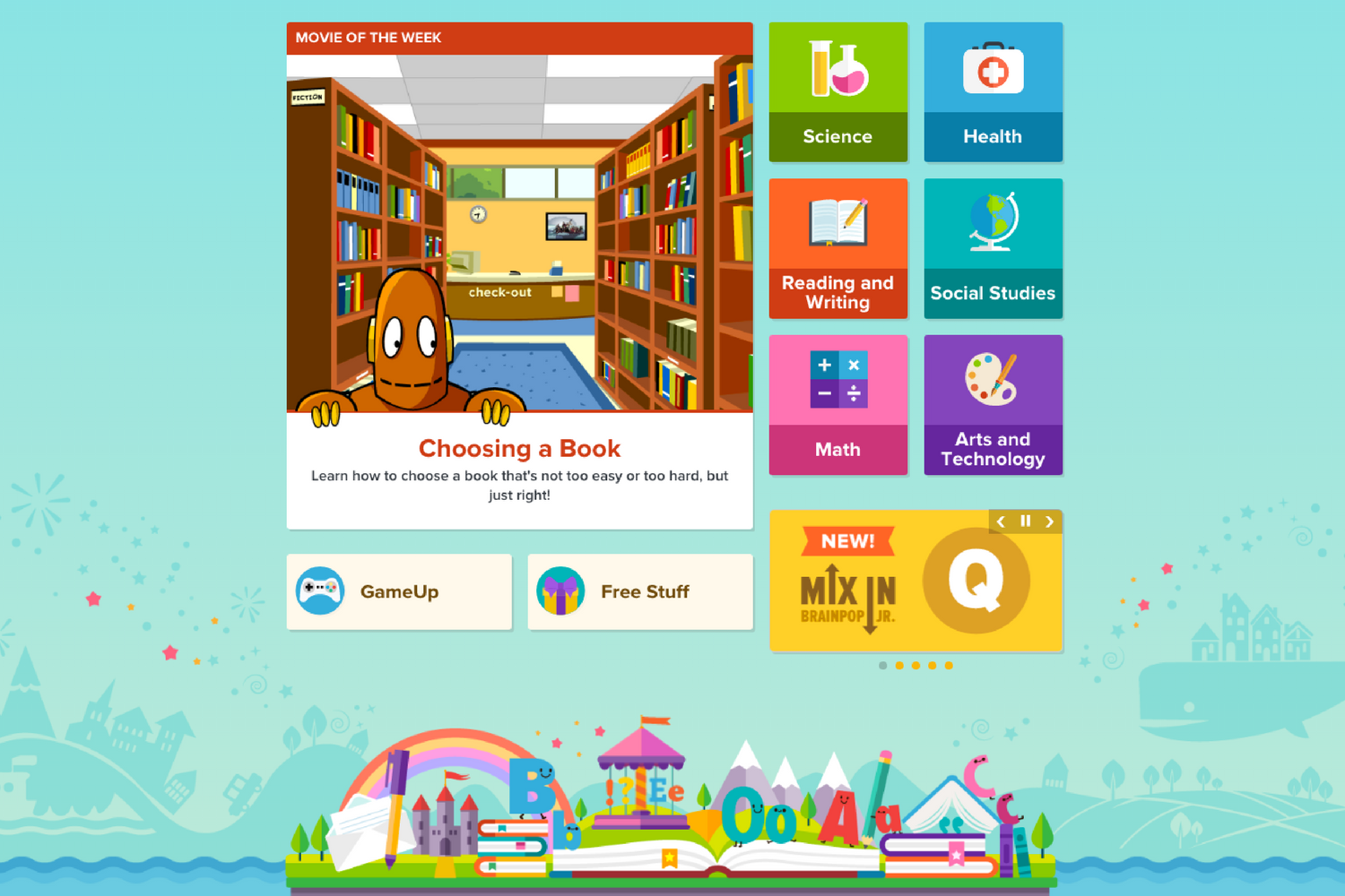 A safe way for young children to learn - The beautifully animated movies and interactive features on BrainPOP Jr. cover everything from tally charts to short vowels to food groups.Extremely versatile, BrainPOP Jr. develops confident and independent learners.