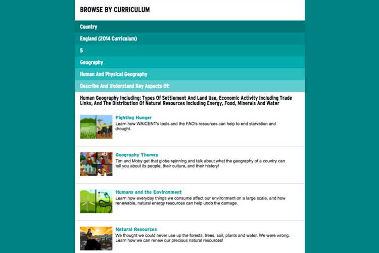 Mapped to curriculum - BrainPOP is mapped to the national curriculum for England & Wales, Scotland's Curriculum for Excellence, and US State standards and Common Core