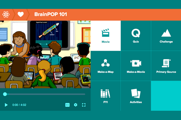 BrainPOP 101 course