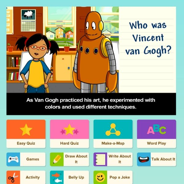 Energise a lesson! - BrainPOP is a great way to introduce a new topic or concept. Use the movies to engage your students with active viewing! Pause when a new vocabulary word pops up, or have students paraphrase what happened, make a prediction or connect what they just saw to their own experience.