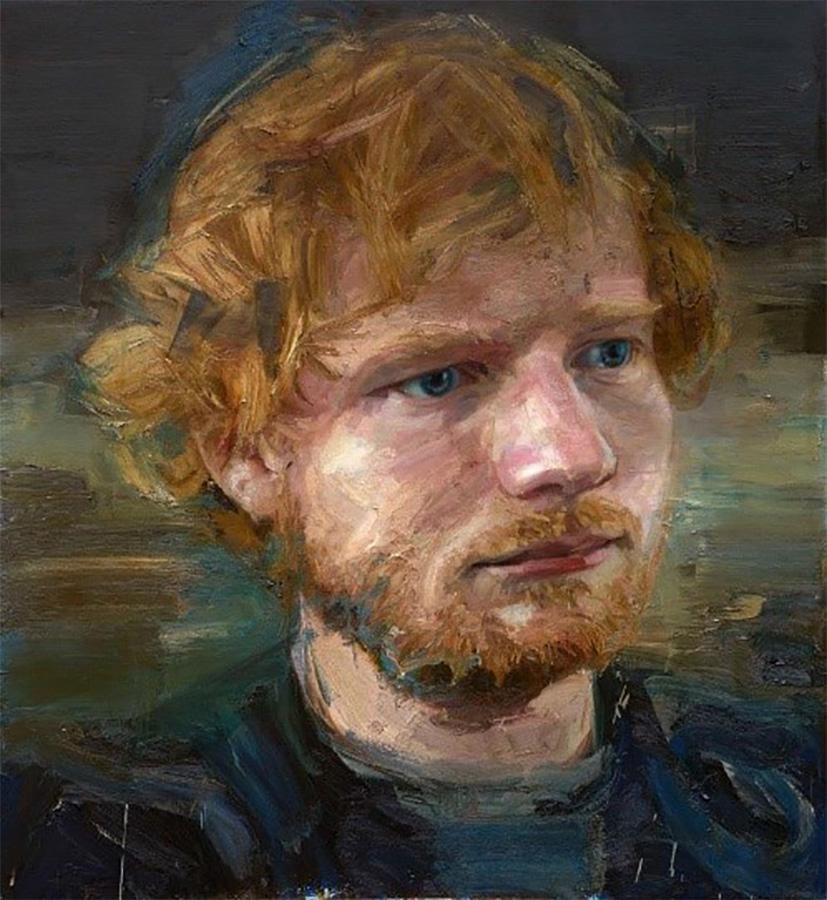 Ed Sheeran, Colin Davidson (2016)