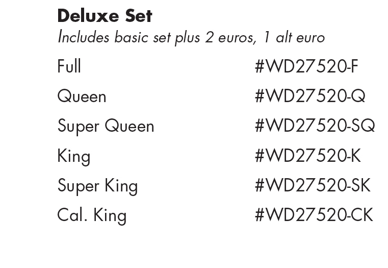 WD24520 Adobe Quarry Deluxe Set