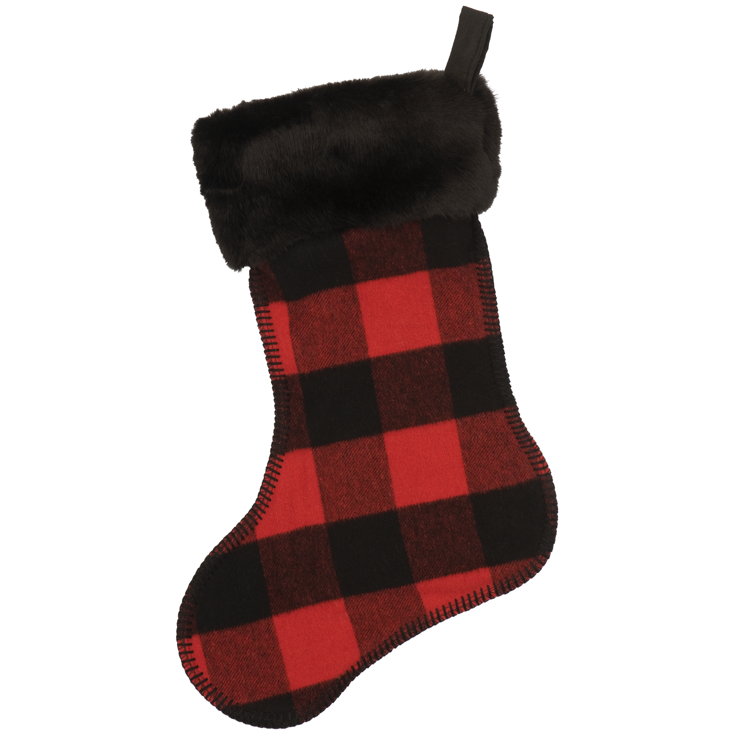Buffalo Plaid Stocking - 14