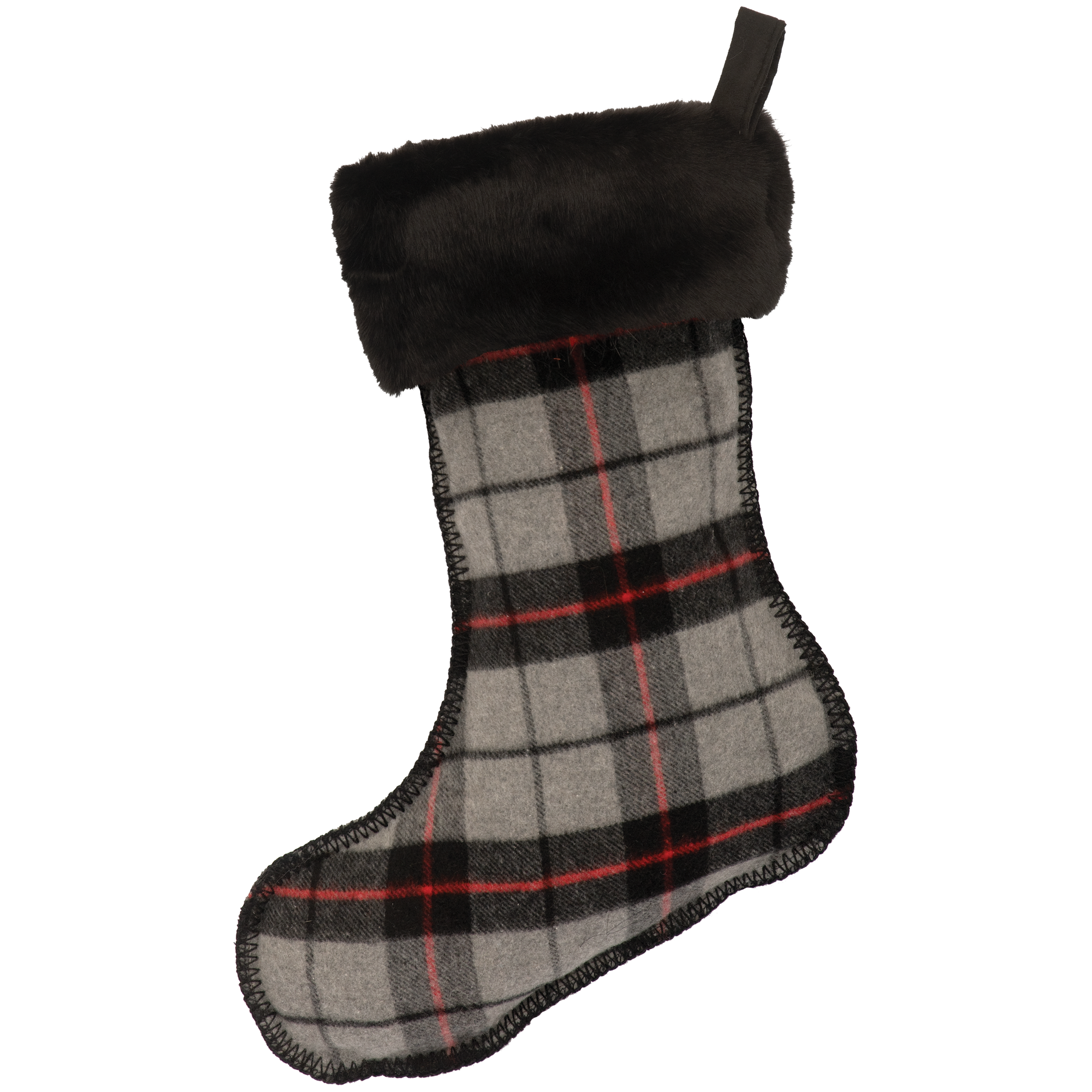 Ponderosa Plaid Stocking - 14