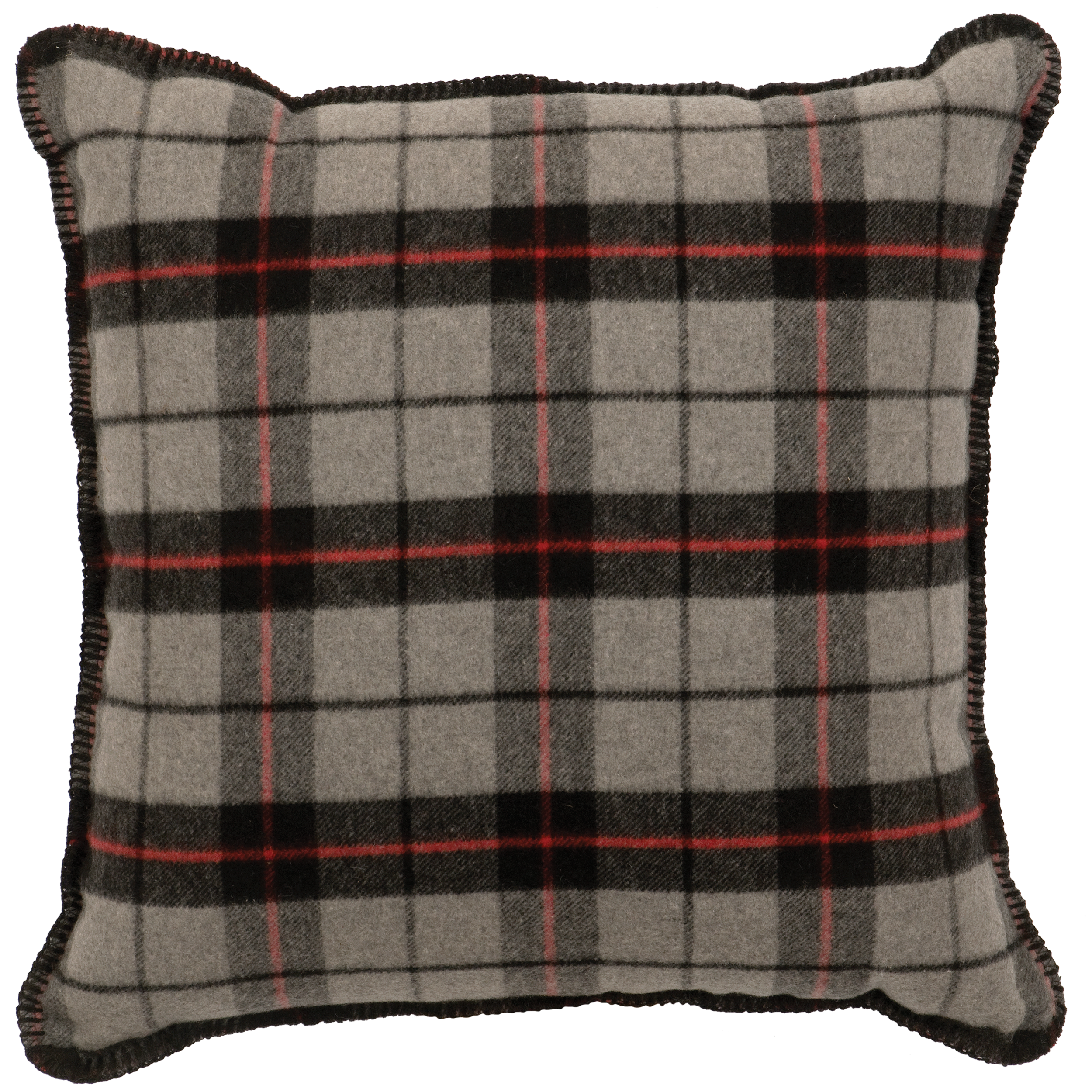 Ponderosa Plaid Pillow - 20