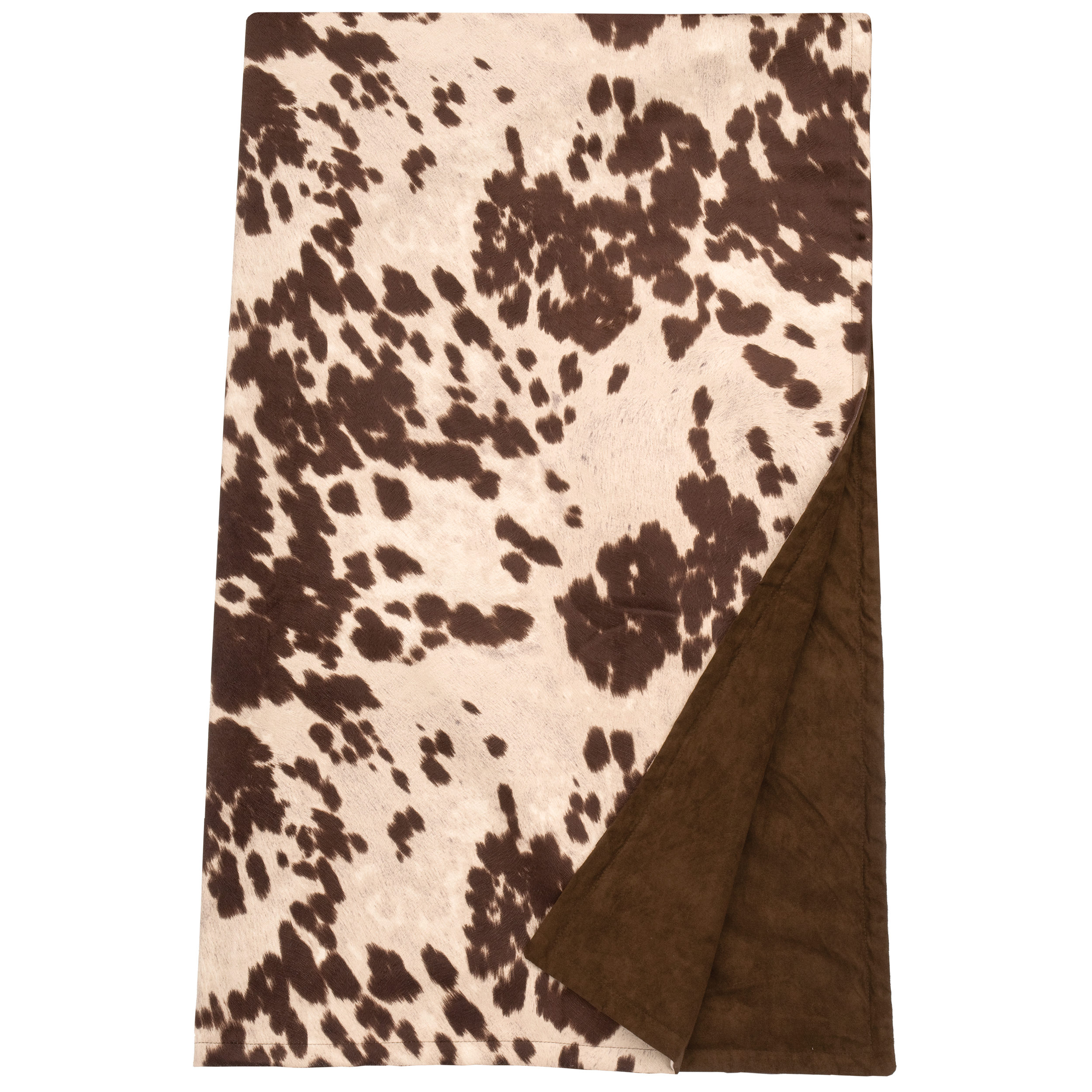 Udder Brown Throw - 54
