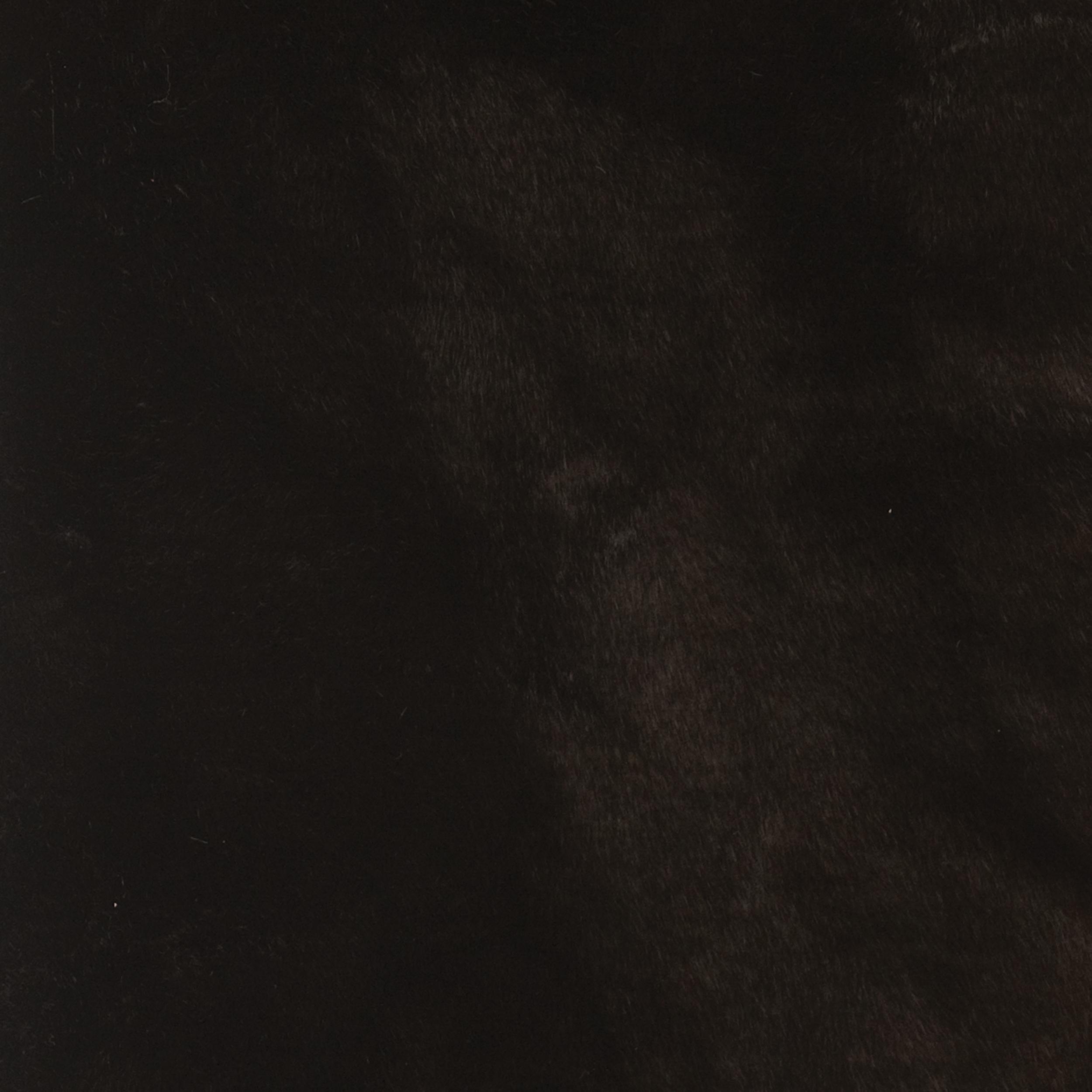 Black Sable Faux Fur