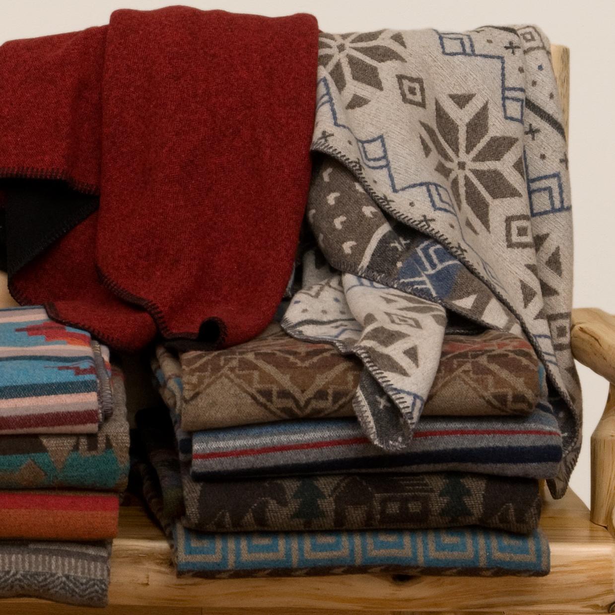 Wool Throws & Pillows -