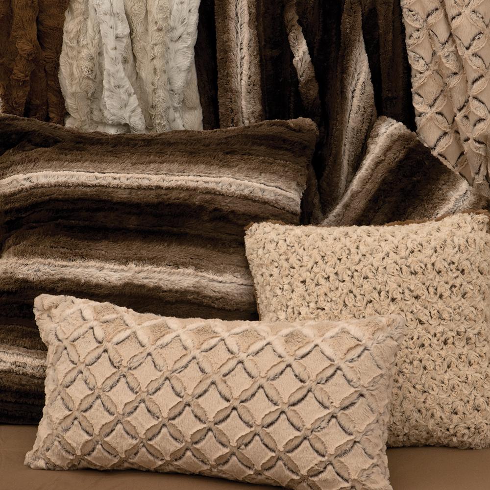 Cuddle Fur Throws & Pillows -