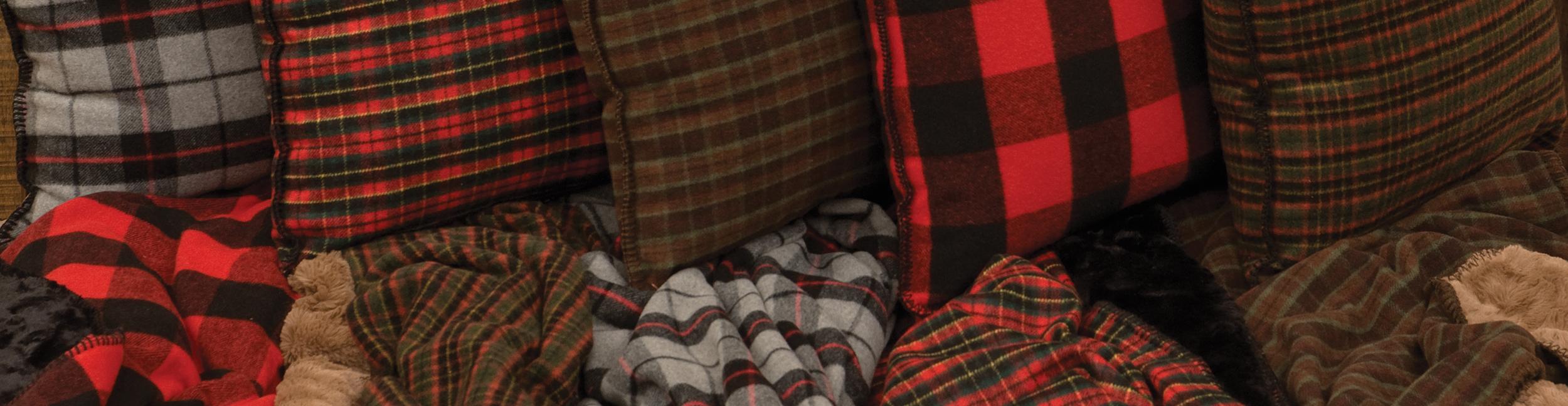 Premier Plaid Throws & Pillows