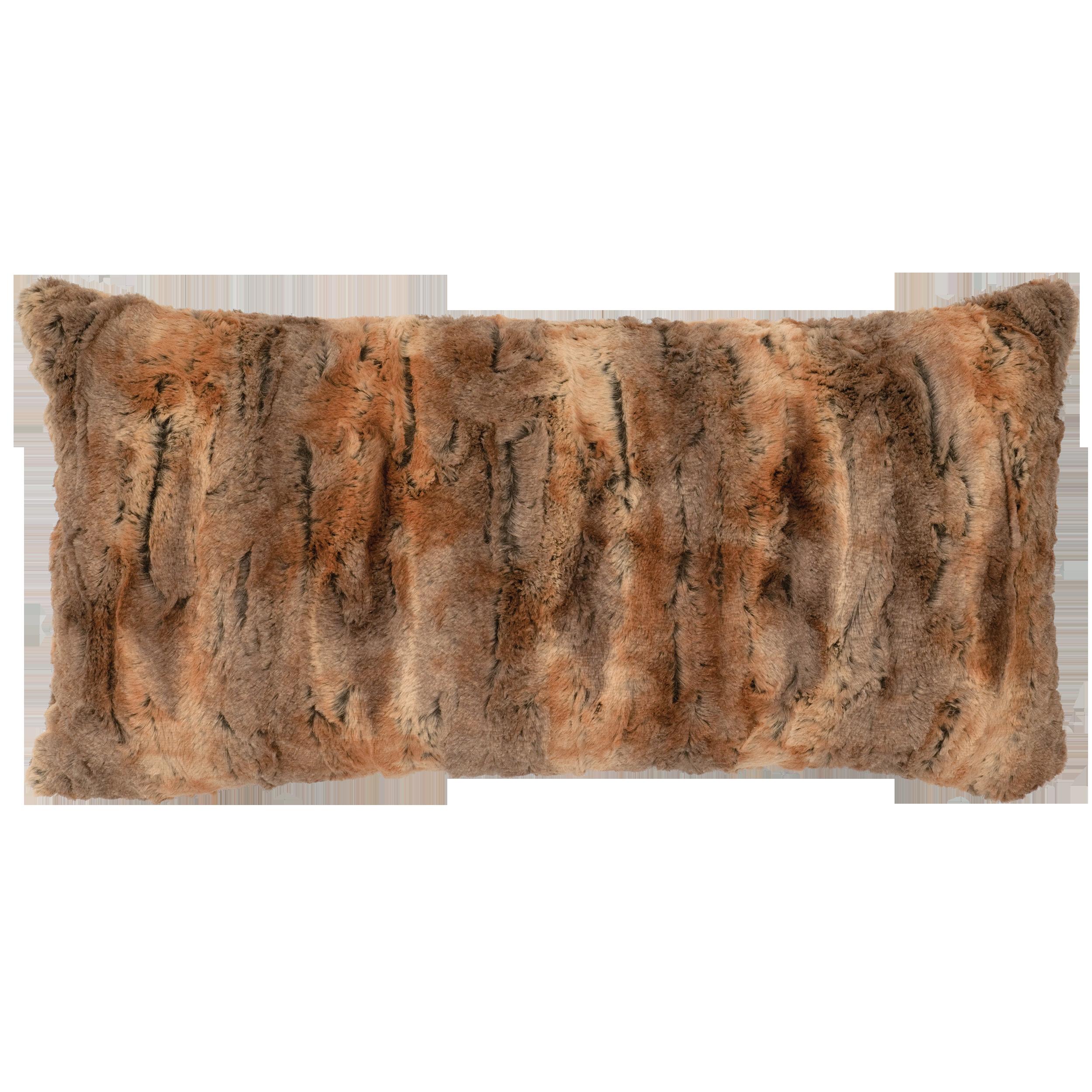 Amber Fox Cuddle Fur Pillow - 14