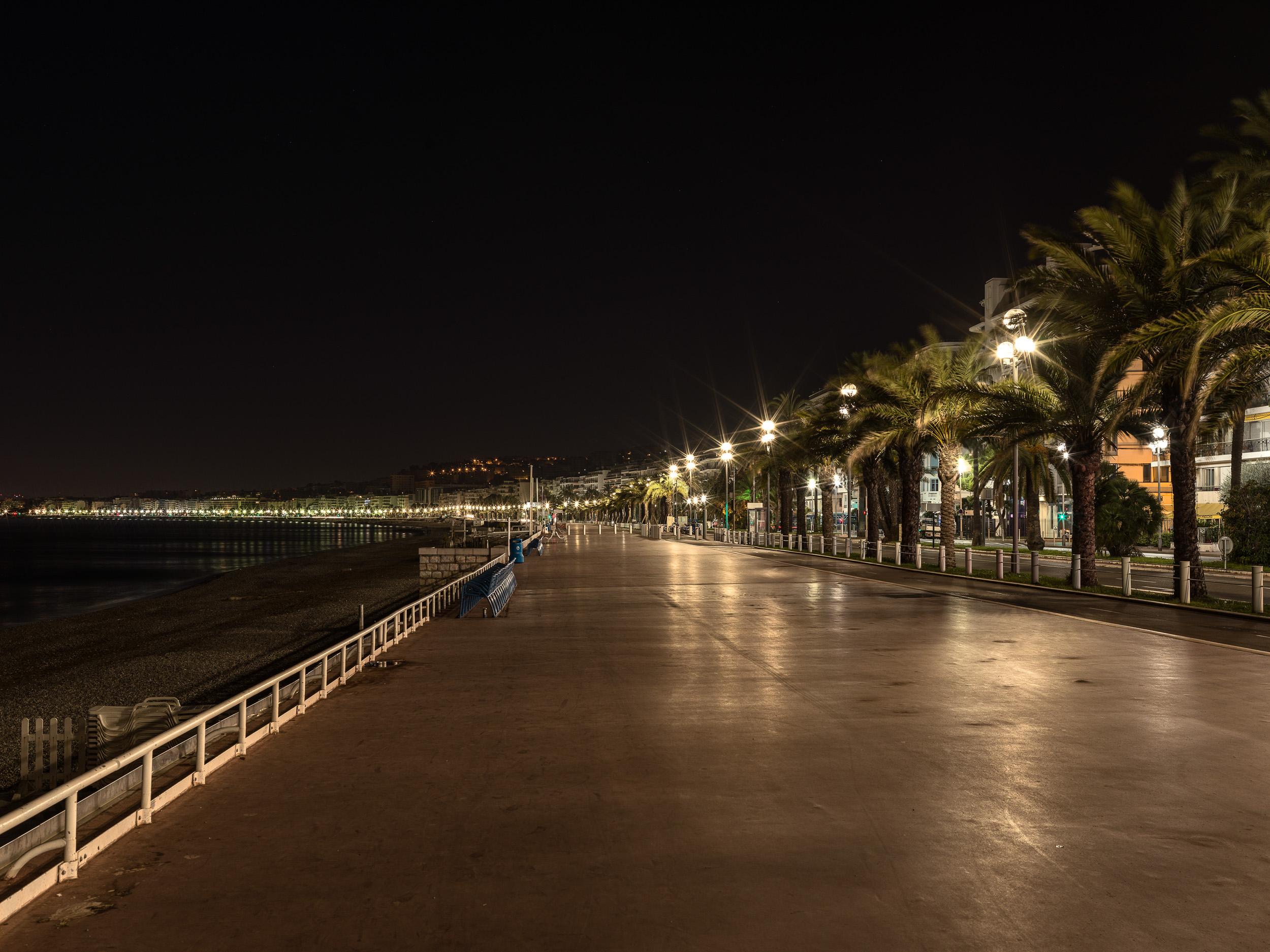 Terror Attack Location Promenade des AnglaisNice, France