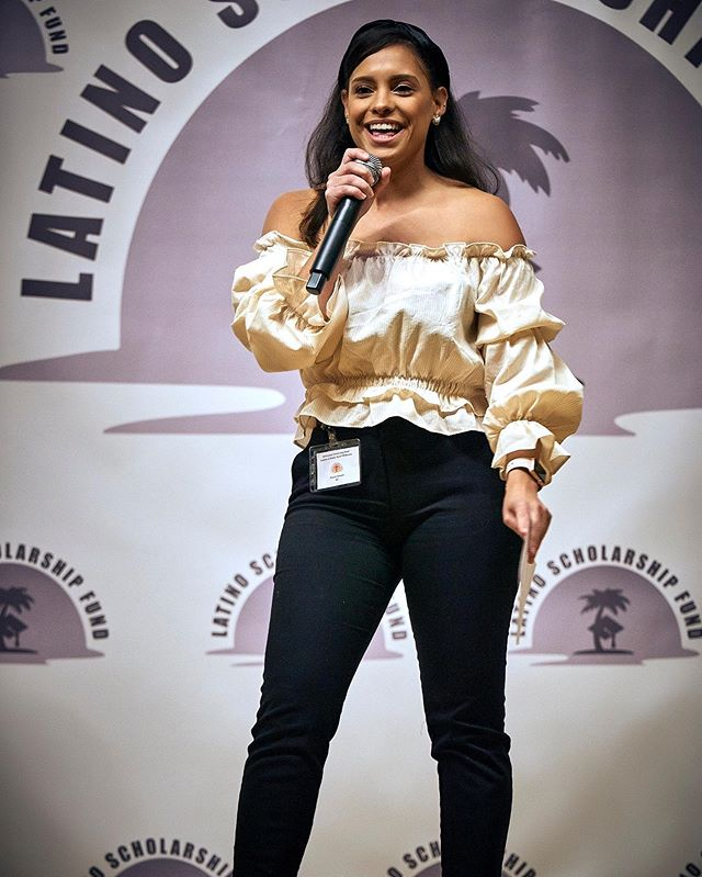 I had the absolute pleasure of hosting the @latinoscholarshipfundinc fashion and vendor show! I had such an awesome time meeting and connecting with so many talented creatives! @allison_souless thank you so much for believing in me to help bring your vision to life. You were such a joy to work with! Amelia and I had such a fun time. I hope you invite us back next time!! #eventhosting #latinagirls