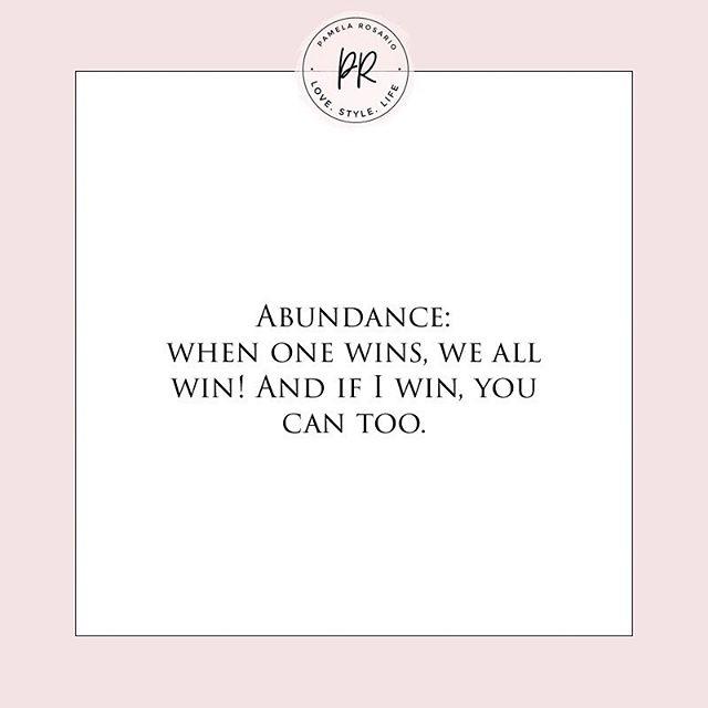 #abundance
