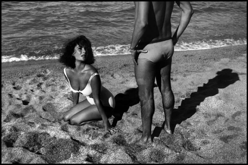 "Sagaro, Spain. 1959. Elizabeth Taylor on the set of ""Suddenly Last Summer."""